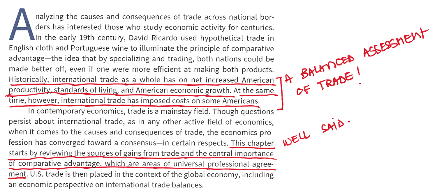 Trade as a Whole Has on Net Increased Economic Growth