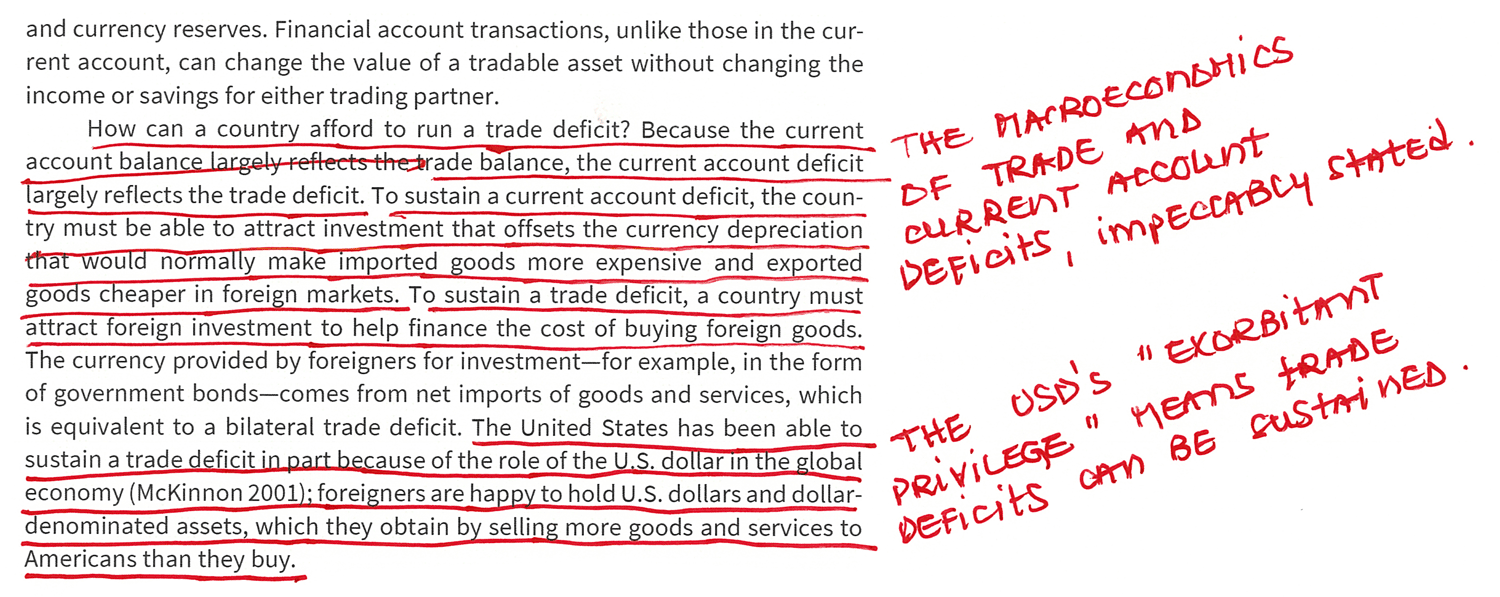 How Can a Country Afford to Run a Trade Deficit?