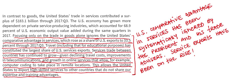 Bilateral Goods Deficit and a Services Surplus (2)