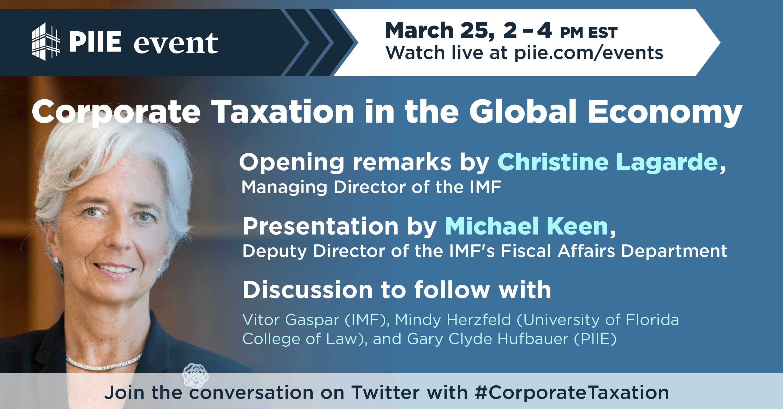 Corporate Taxation in the Global Economy   Event   PIIE