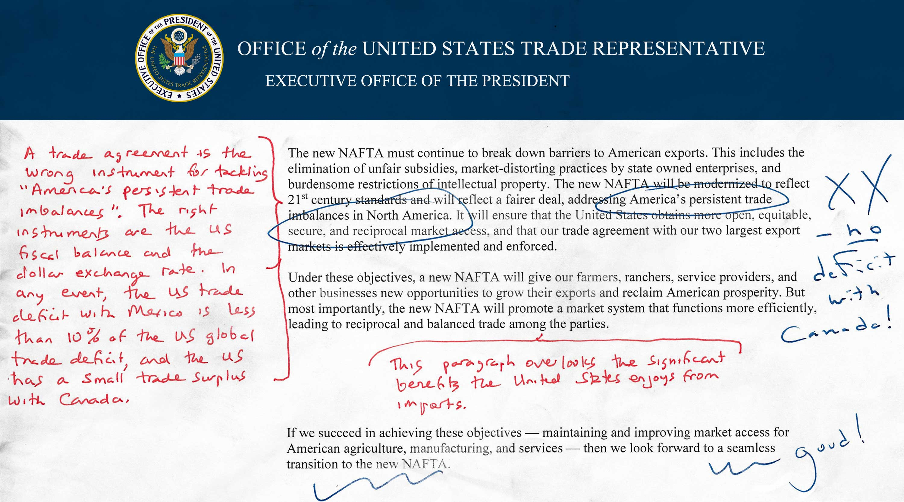 Trumps Nafta Agendaannotated And Explained Piie