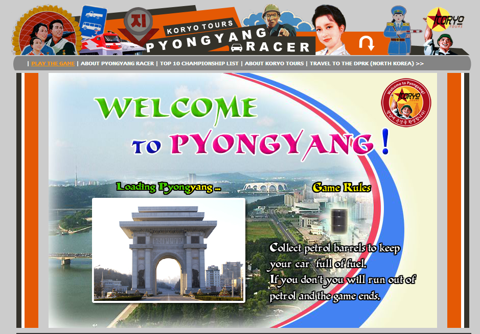 Pyongyang Racer - Koryo Tours