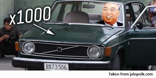 volvos in NK