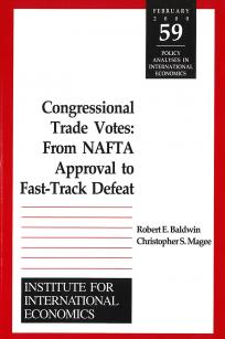 Congressional Trade Votes: From NAFTA Approval to Fast-Track Defeat
