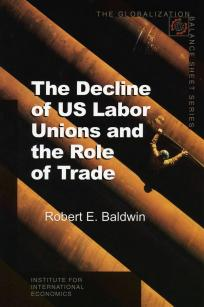 The Decline of US Labor Unions and the Role of Trade