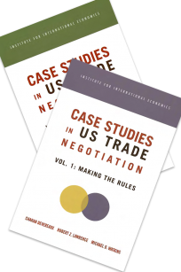 Case Studies in US Trade Negotiation: Two Volume Set