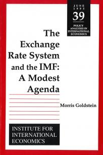 The Exchange Rate System and the IMF: A Modest Agenda