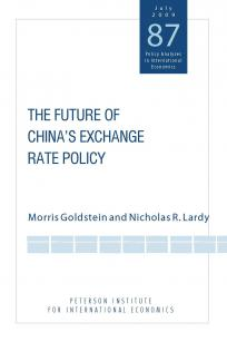 The Future of China's Exchange Rate Policy