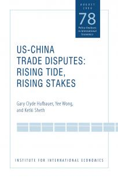US-China Trade Disputes: Rising Tide, Rising Stakes