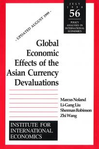 Global Economic Effects of the Asian Currency Devaluations