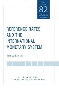 Reference Rates and the International Monetary System