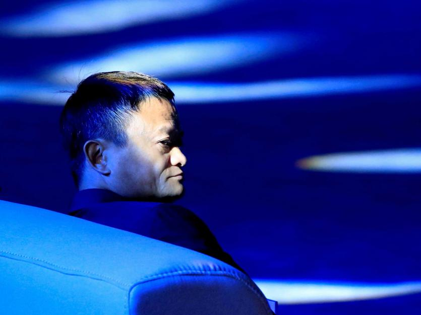 Alibaba Group co-founder and executive chairman Jack Ma in Shanghai, China, September 17, 2018.
