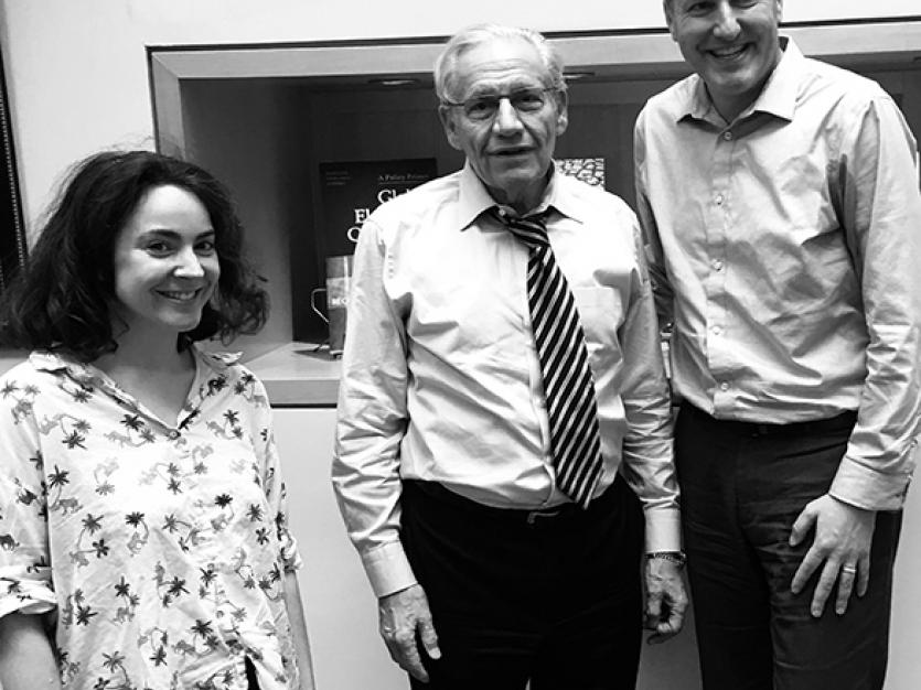 Soumaya Keynes, Bob Woodward, and Chad P. Bown