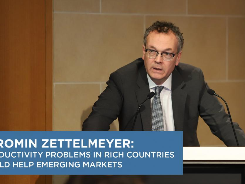 Jeromin Zettelmeyer: Productivity Problems in Rich Countries Could Help Emerging Markets