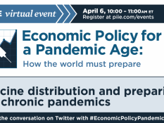 Economic policy for a pandemic age: Vaccine distribution and preparing for chronic pandemics
