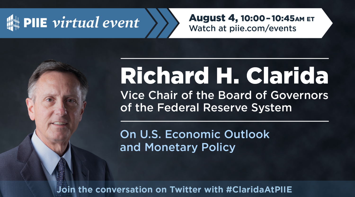 Fed Vice Chair Richard H. Clarida on US economic outlook and monetary policy (Twittercard)
