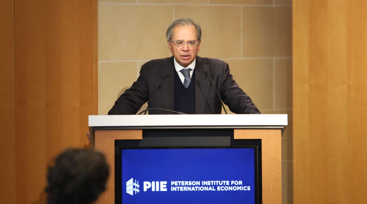 Paulo Guedes (Minister of the Economy, Brazil)