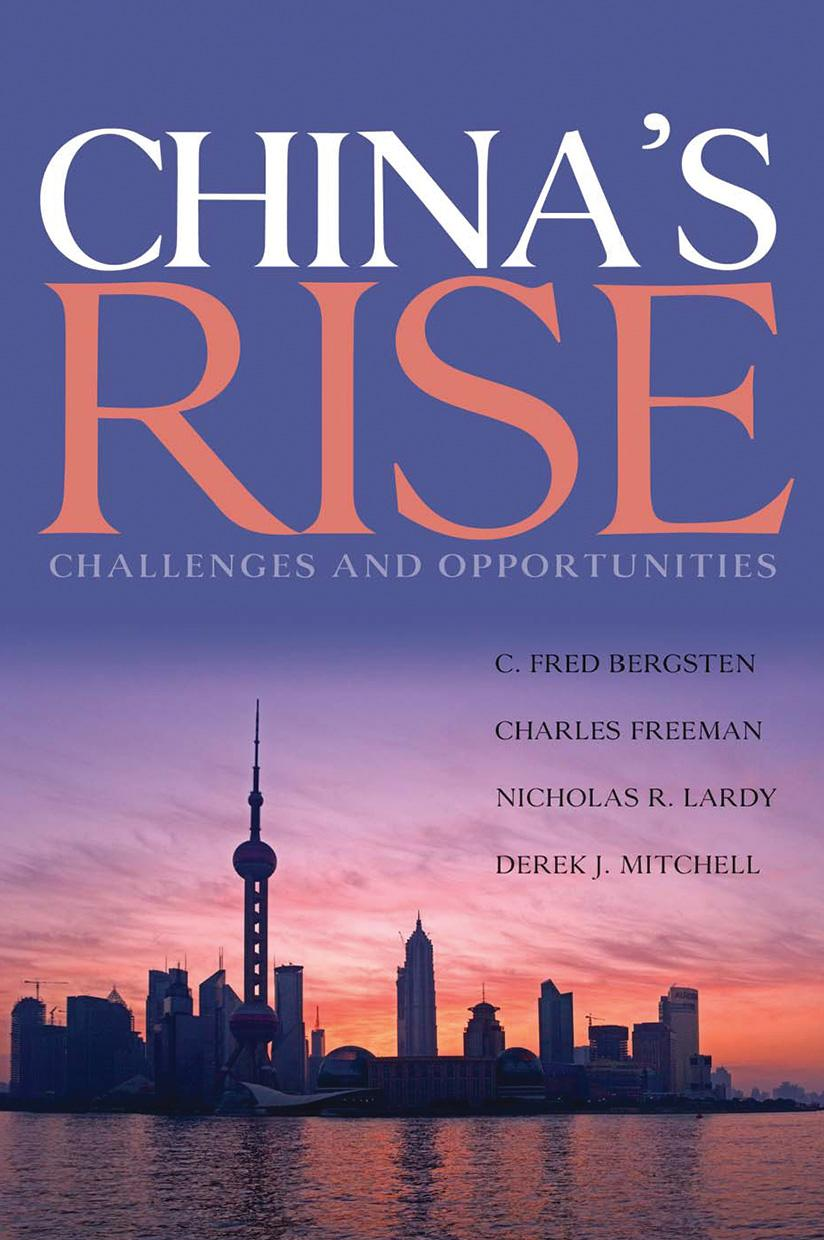 China's Rise: Challenges and Opportunities (hardcover)