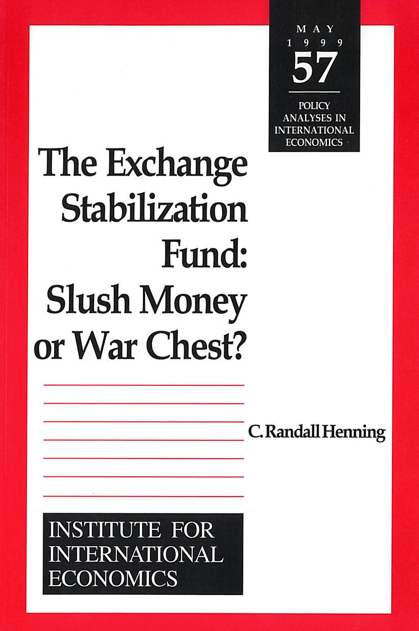 The Exchange Stabilization Fund: Slush Money or War Chest?